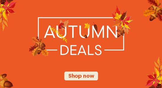 Shop Our Late Autumn Mega Deals Now!