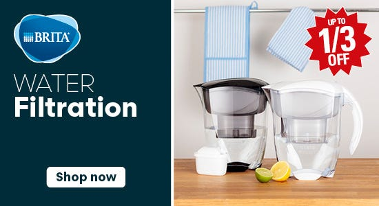 Shop our brita products at up to a third off!