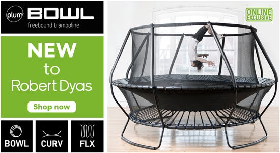 Shop the new plum bowl freestand trampoline here!