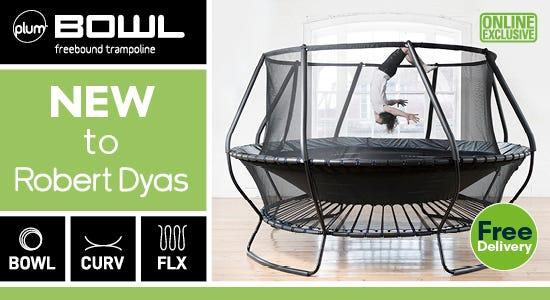 Get the new plum bowl freestand trampoline here!