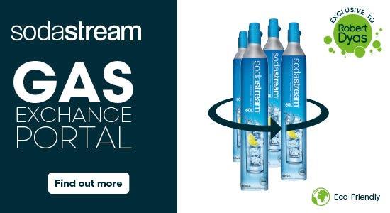 Sodastream Cylinder Gas Exchange