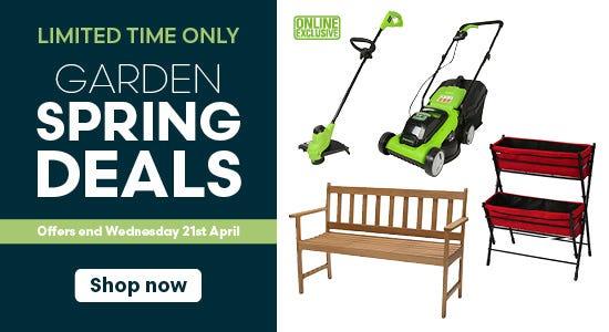 Limited Time Only - Garden Spring Deals Ends 21st April