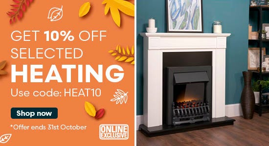 Use code HEAT10 for 10% off heating