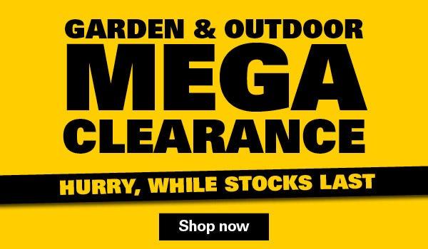 Shop Garden & Outdoor Clearance