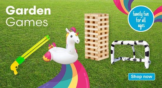Enjoy the range of our garden games!