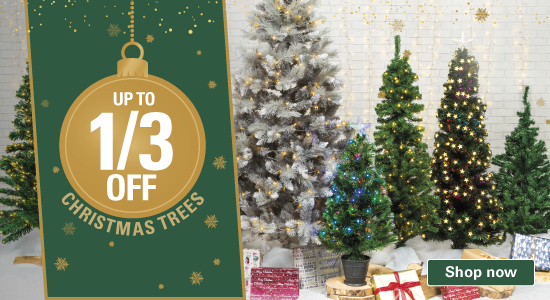 Christmas Trees Up to 1/3 Off