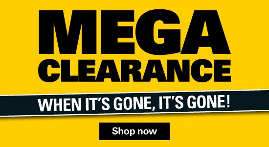 When Its Gone Its Gone In Our Great Mega Clearance!
