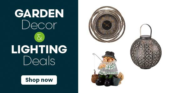 Outdoor Lighting & Garden Decor Deals