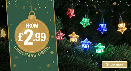 Christmas Lights deals from £2.99