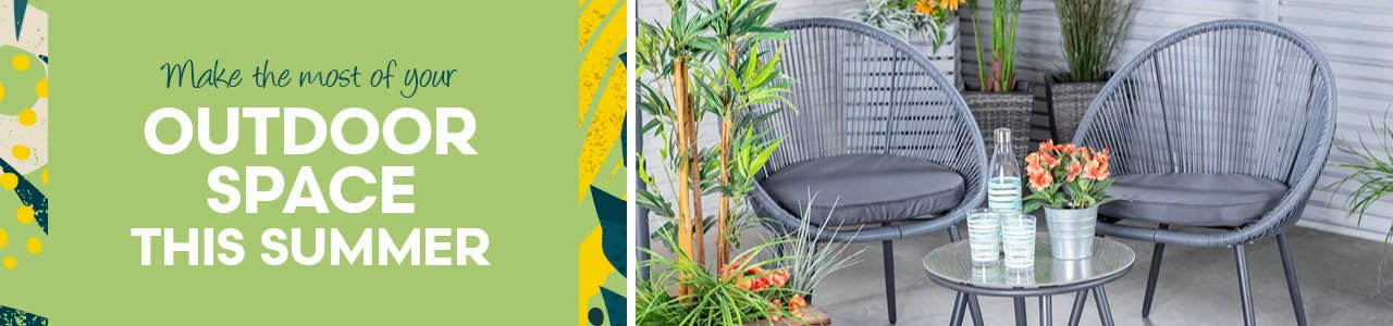 Make the most of your outdoor space this summer