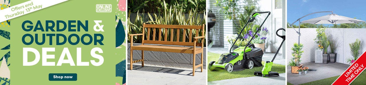 Shop our garden outdoor limited time offers!