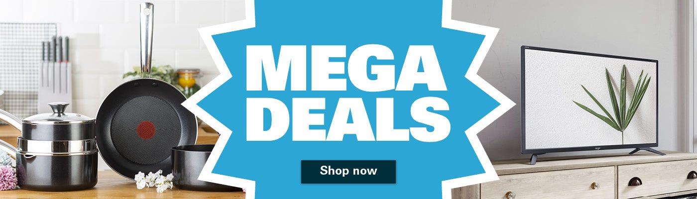 Shop our mega brand deals now!