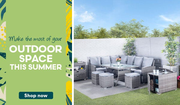 Make the most of your outdoor space this summer!