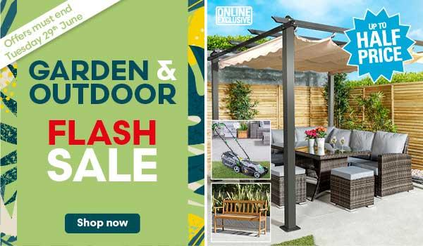 Garden & Outdoor Flash Sale Ending 29th June!