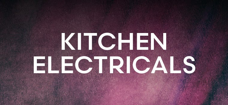 Shop kitchen electricals in our black friday deals