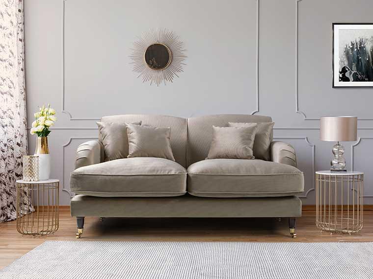 Indoor Furniture - cream sofa