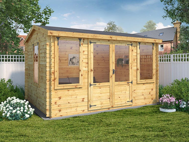 Log Cabins - mercia