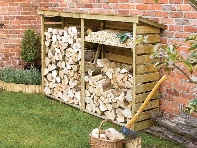 Garden Storage - Log store