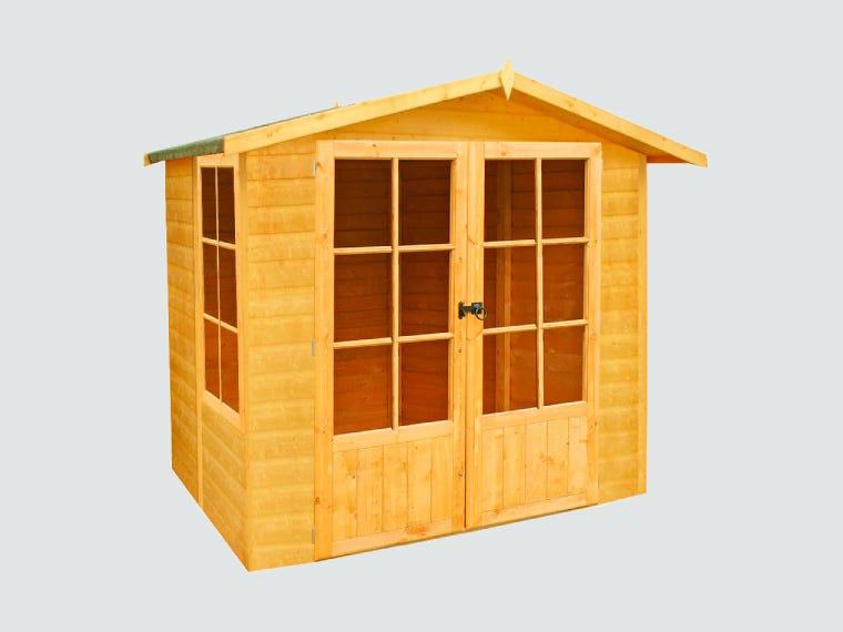 Log Cabins in Garden Buildings