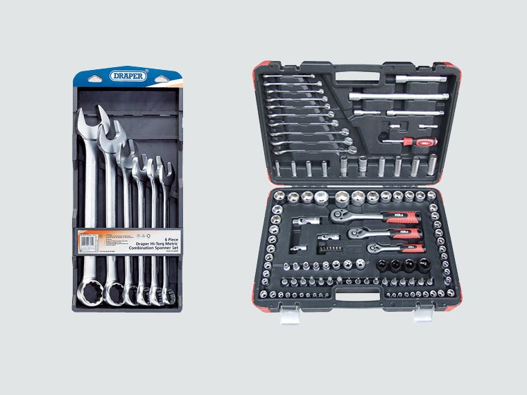 Spanner & Socket Sets - Hand Tools