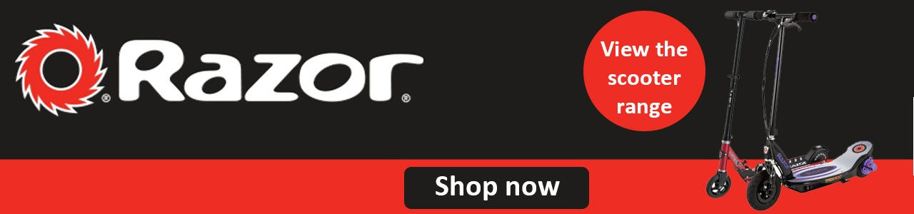 Shop Razor scooter products here