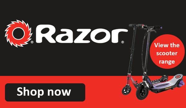 Shop Razor scooter here