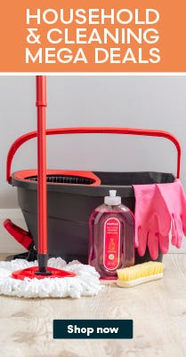 Shop Household Cleaning Deals