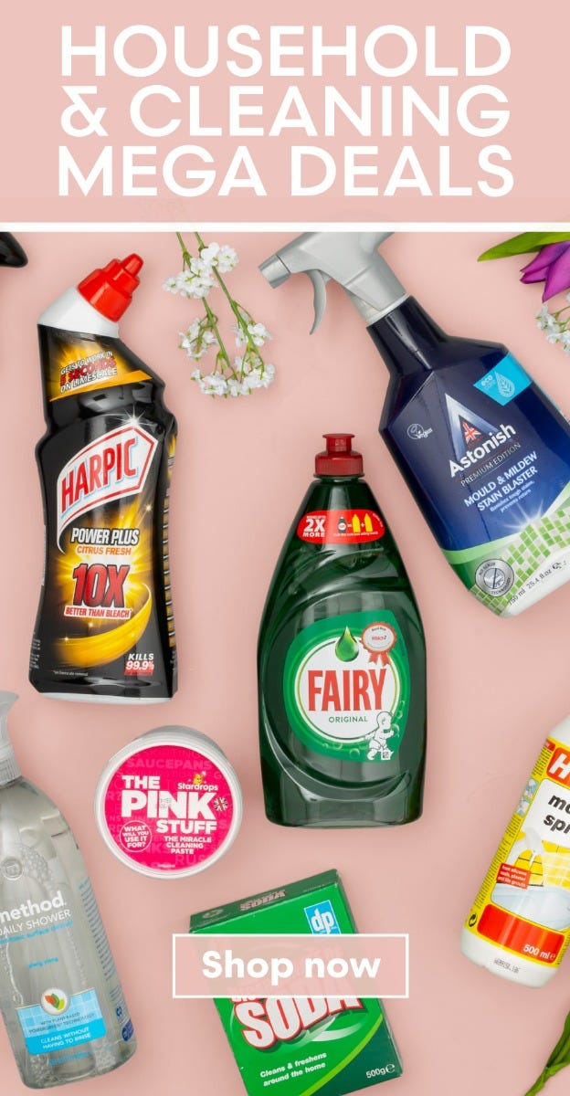 Shop Household & Cleaning Deals
