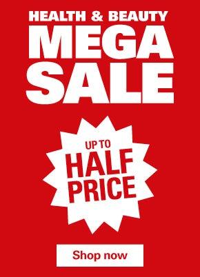 Health & Beauty Mega Sale