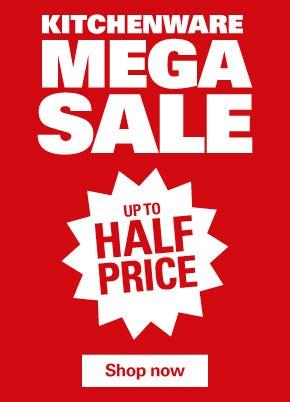 Kitchenware Mega Sale