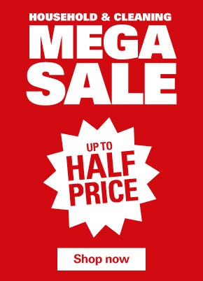 Household & Cleaning Mega Sale