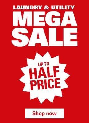 Laundry & Utility Mega Sale