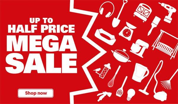Shop Our Mega Sale Now!