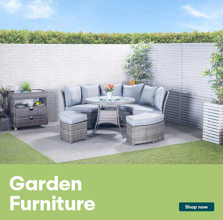 Shop our garden furniture range