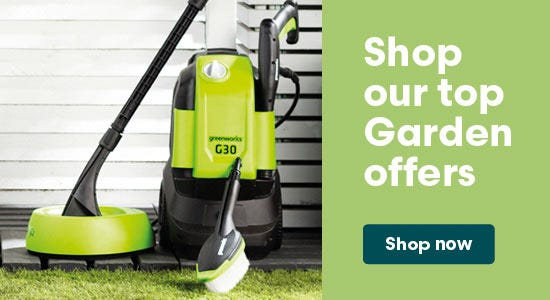 Shop our top garden offers now
