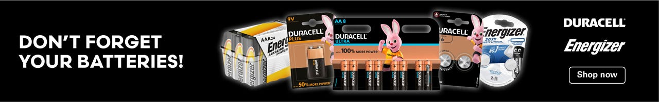Shop D batteries here