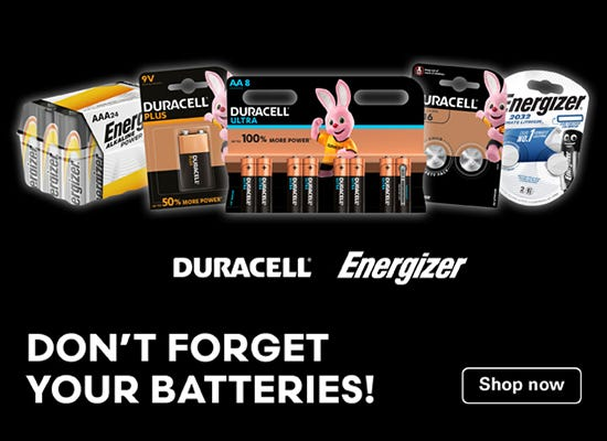 Shop AA type batteries here