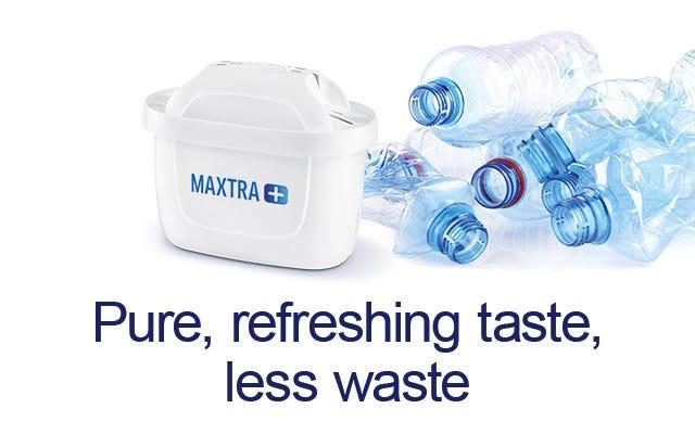 refreshing taste, less waste