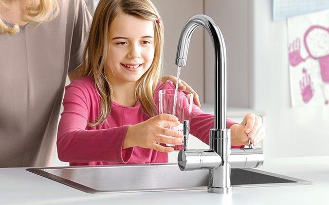 tap in kitchen