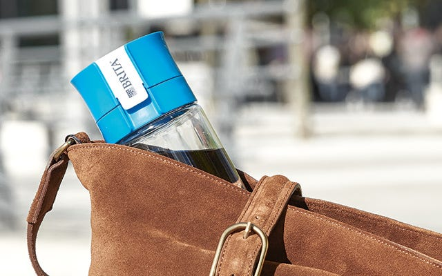 bottle in bag