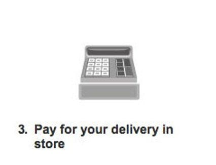 Pay for your delivery in store for DHL