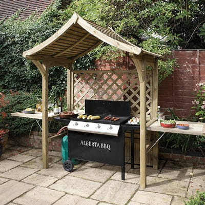 arbour for barbecues