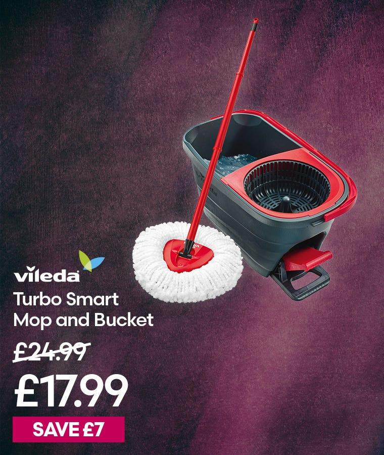 Vileda Turbo Smart Mop and Bucket