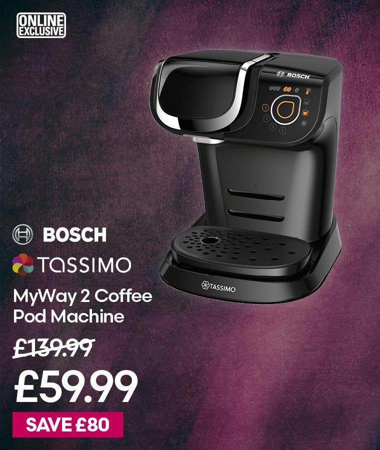 Tassimo TAS6502GB MyWay 2 Coffee Pod Machine