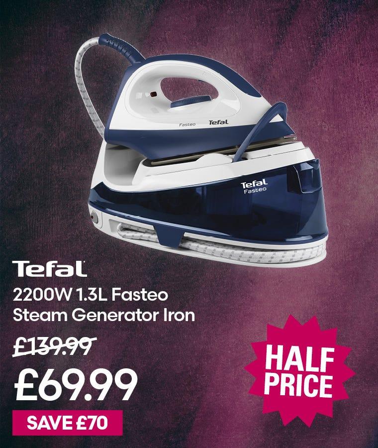 Tefal Fasteo Steam Generator Iron