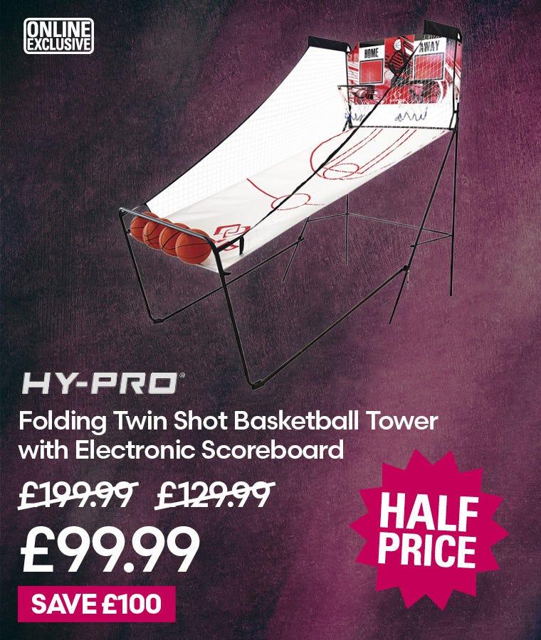 Hy-Pro Twin Shot Basketball Tower