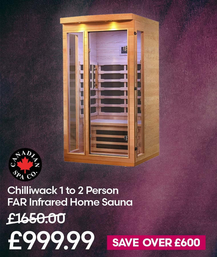 Canadian Spa Chilliwack 1 to 2 Person FAR Infrared Home Sauna