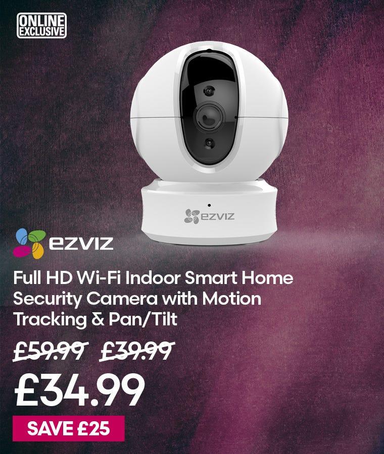EZVIZ Full HD Wi-Fi Indoor Smart Home Security Camera