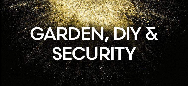 Garden, DIY & Security Black Friday Deals