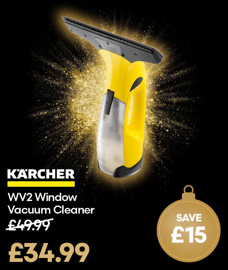 Karcher WV2 Window Vacuum Cleaner Black Friday Deal